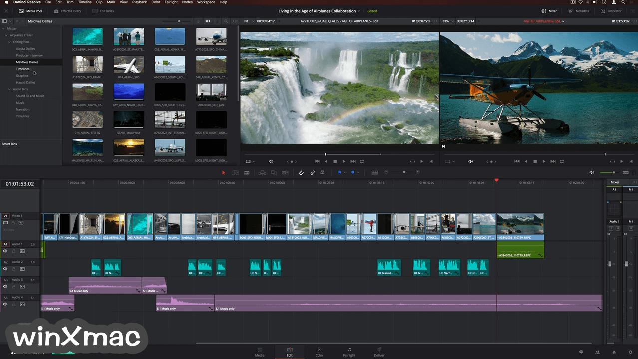 DaVinci Resolve for Mac Screenshot 5