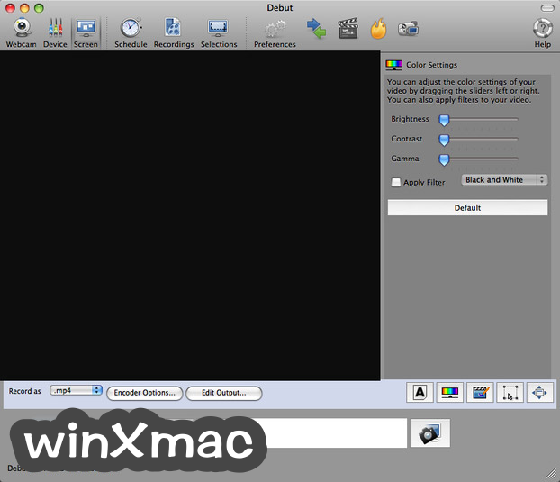 Debut Video Capture for Mac Screenshot 2