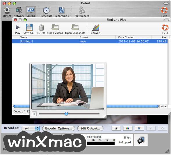 Debut Video Capture for Mac Screenshot 3
