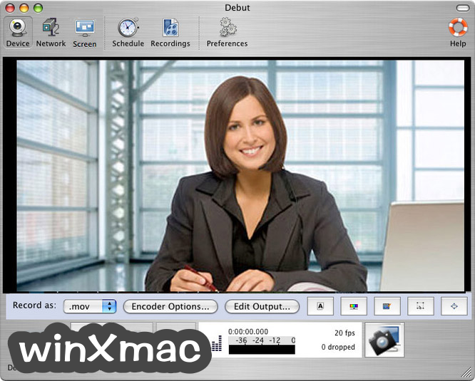 Debut Video Capture for Mac Screenshot 4