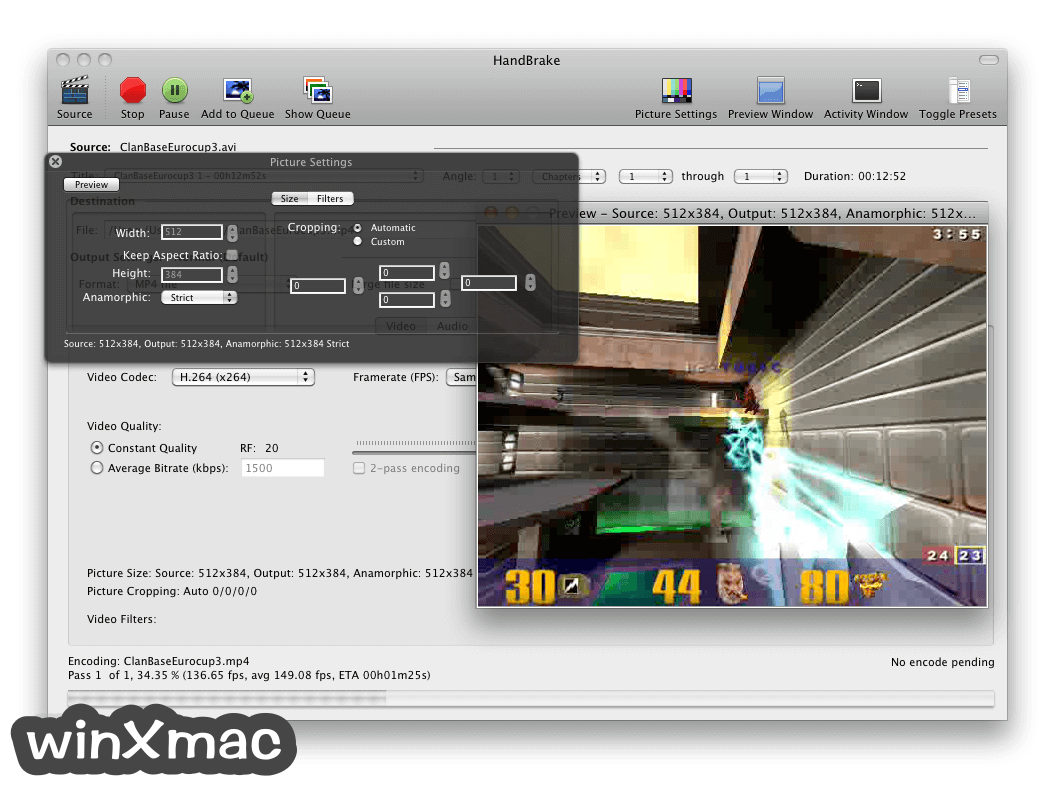 HandBrake for Mac Screenshot 4