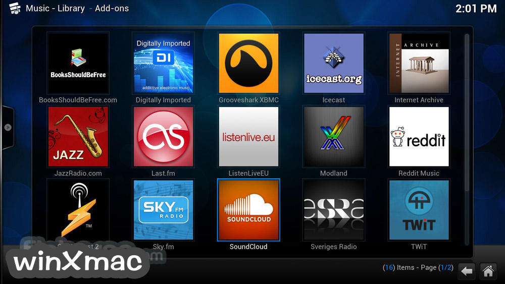 Kodi for Mac Screenshot 5