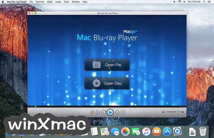 Macgo Mac Blu-ray Player Screenshot 1