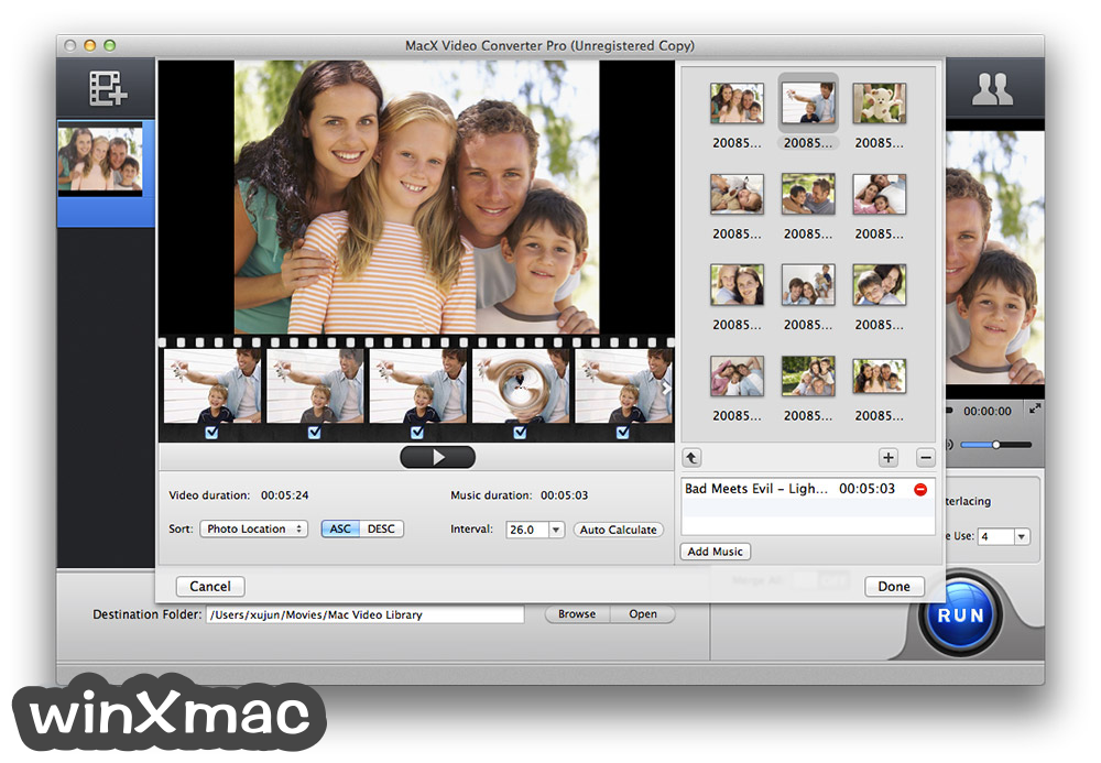 MacX Video Converter Pro Screenshot 2