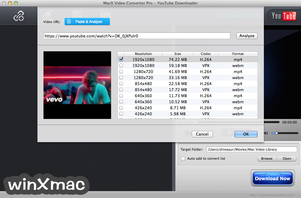 MacX Video Converter Pro Screenshot 3
