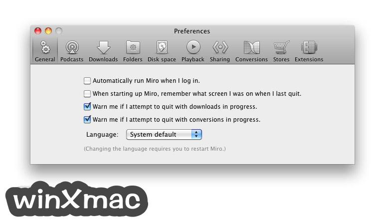 Miro Video Player for Mac Screenshot 2