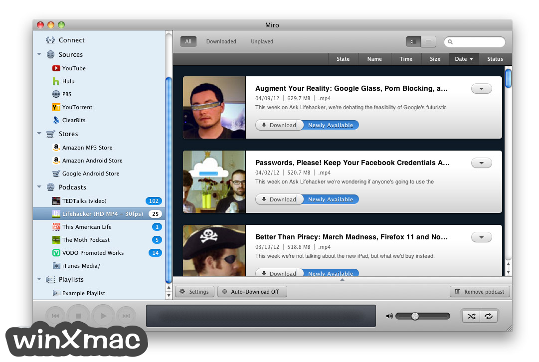 Miro Video Player for Mac Screenshot 5