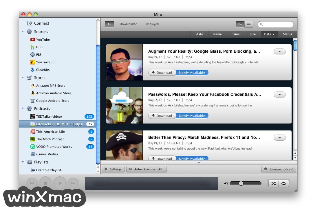 Miro Video Player for Mac Screenshot 5