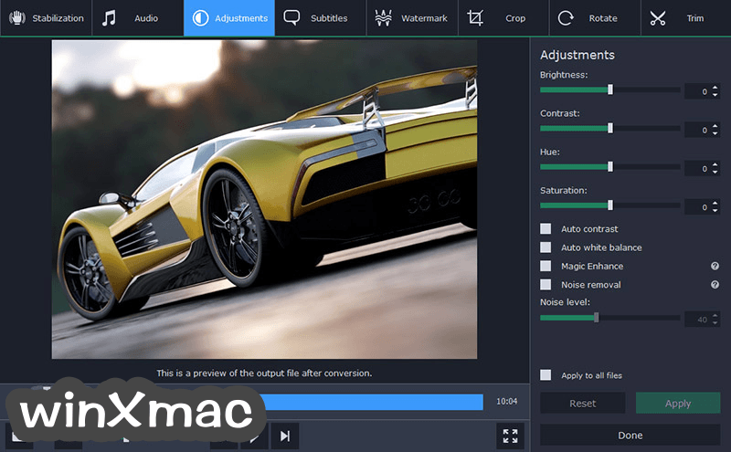 Movavi Video Converter for Mac Screenshot 4