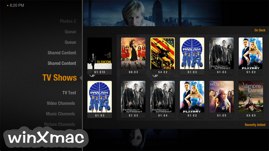 Plex Home Theater for Mac (64-bit) Screenshot 1