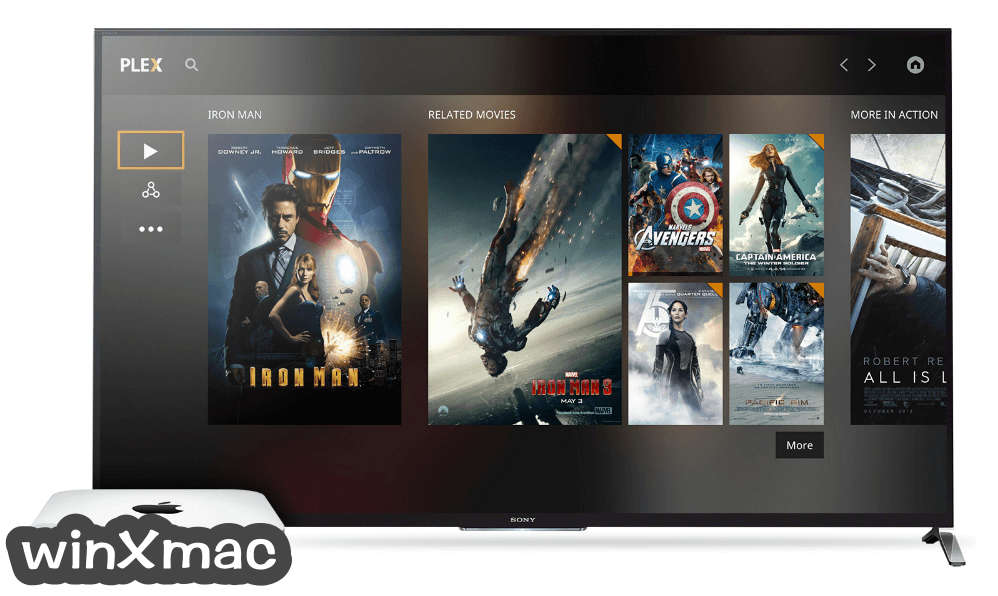 Plex Media Player for Mac Screenshot 1