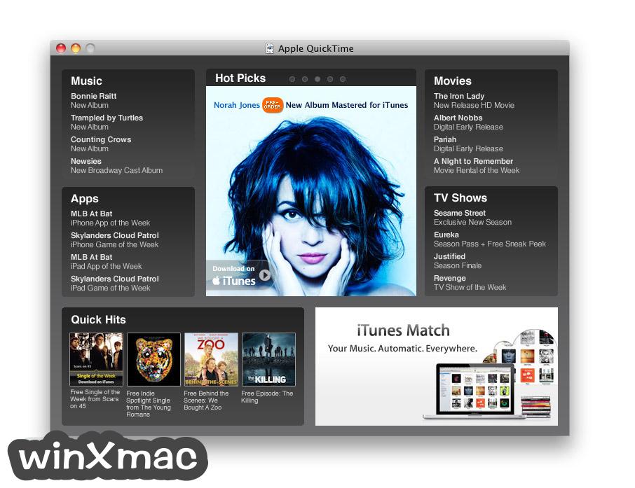 QuickTime Player for Mac Screenshot 1