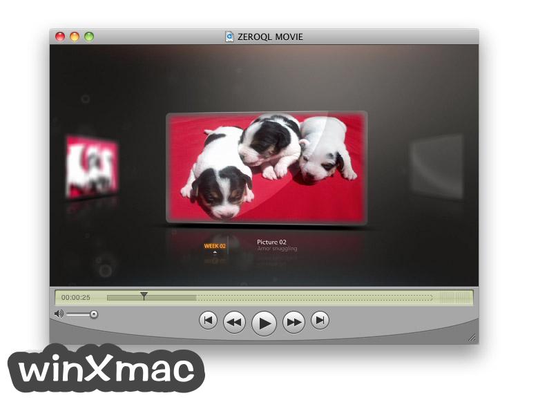 QuickTime Player for Mac Screenshot 2