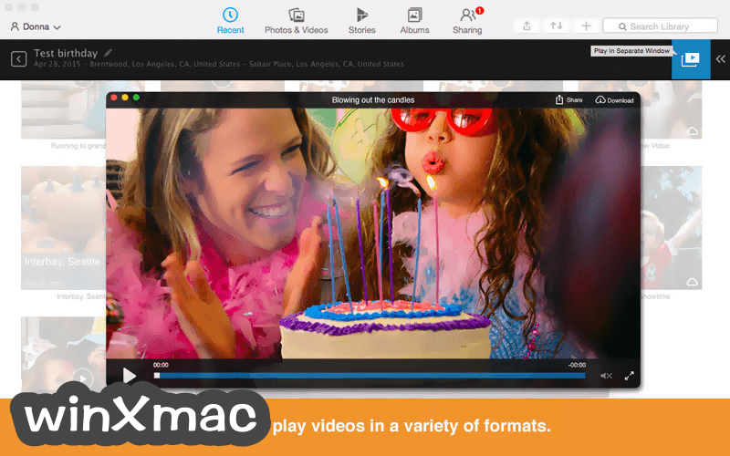 RealPlayer for Mac Screenshot 2