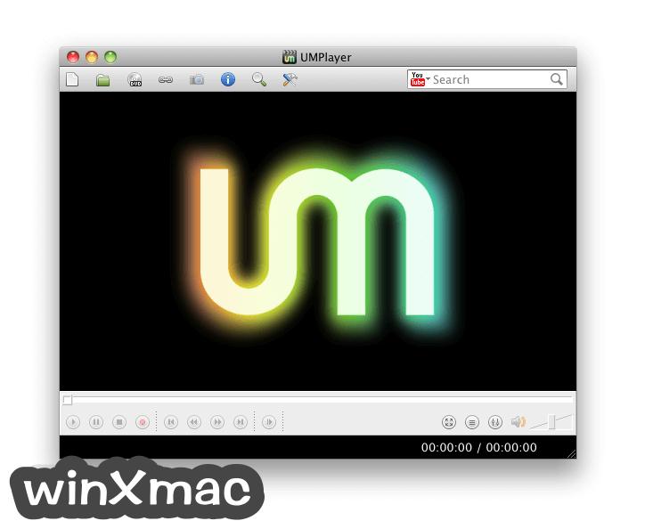 UMPlayer for Mac Screenshot 1