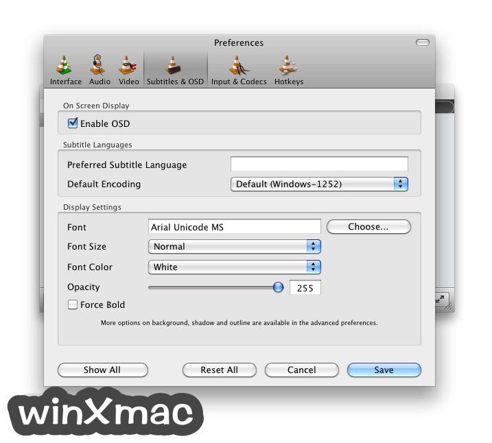 VLC Media Player for Mac Screenshot 4