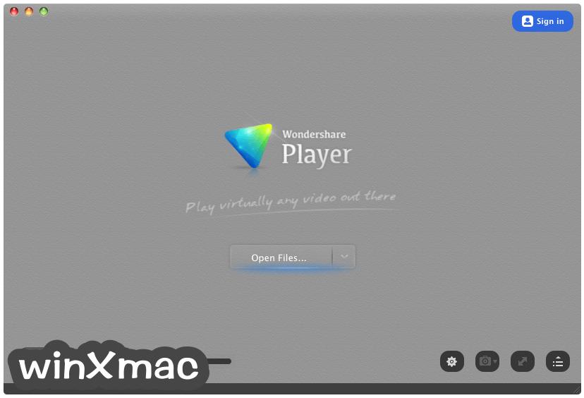 Wondershare Player for Mac Screenshot 1