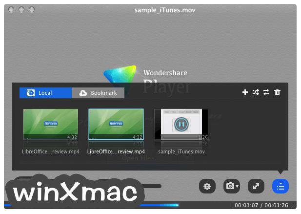 Wondershare Player for Mac Screenshot 2