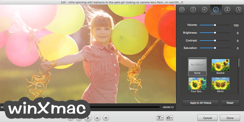 Wondershare Video Converter for Mac Screenshot 2