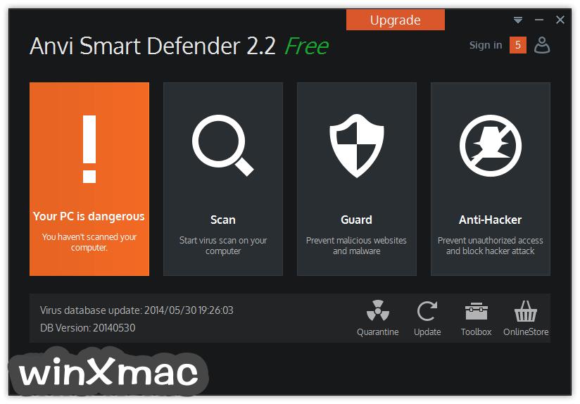 Anvi Smart Defender Screenshot 1
