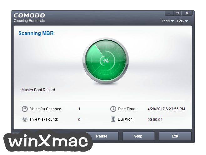 Comodo Cleaning Essentials (32-bit) Screenshot 2