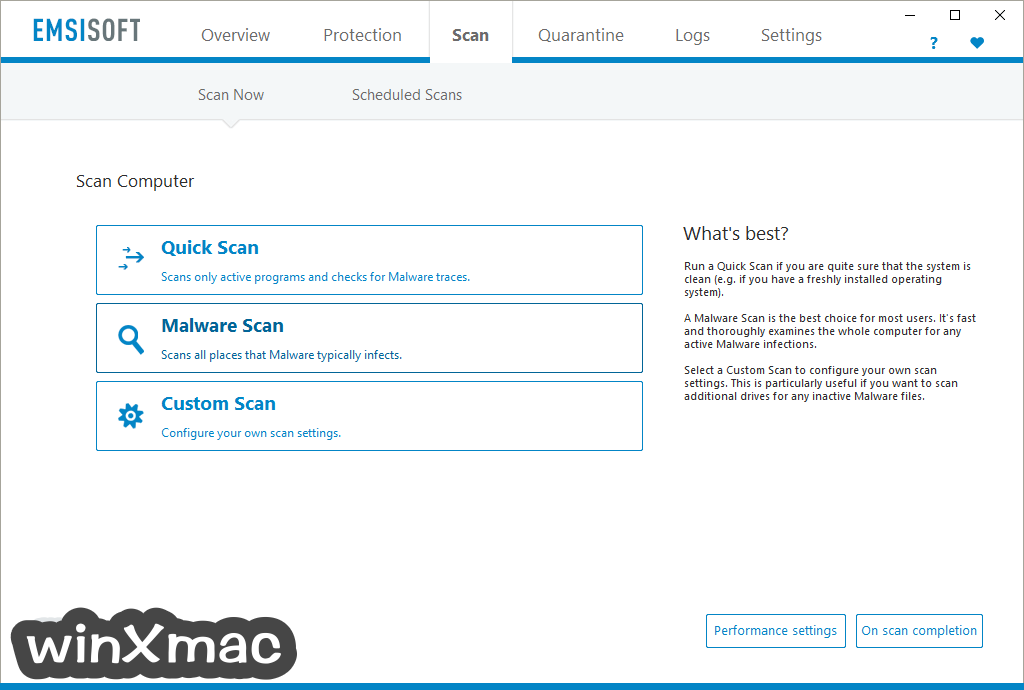 Emsisoft Anti-Malware Screenshot 2