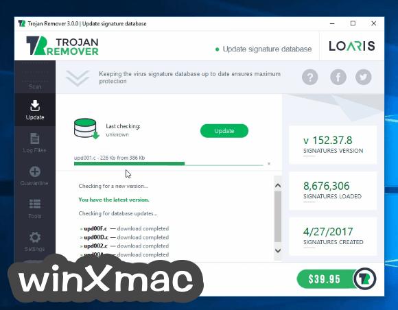 Loaris Trojan Remover Screenshot 1