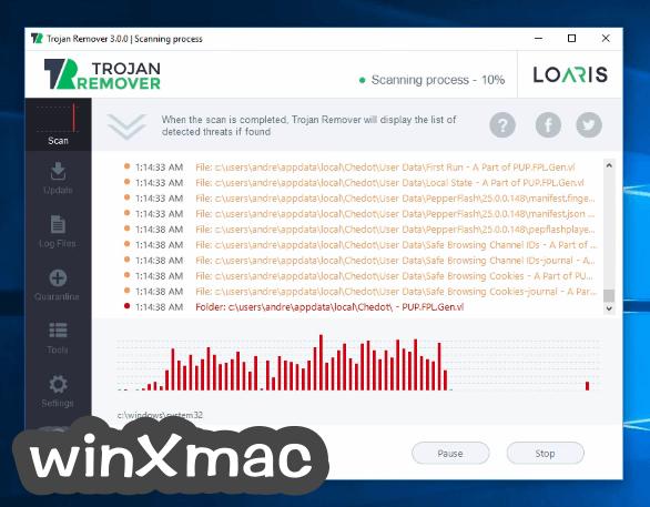 Loaris Trojan Remover Screenshot 3