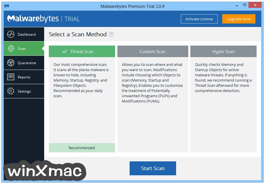 Malwarebytes Anti-Malware Screenshot 2
