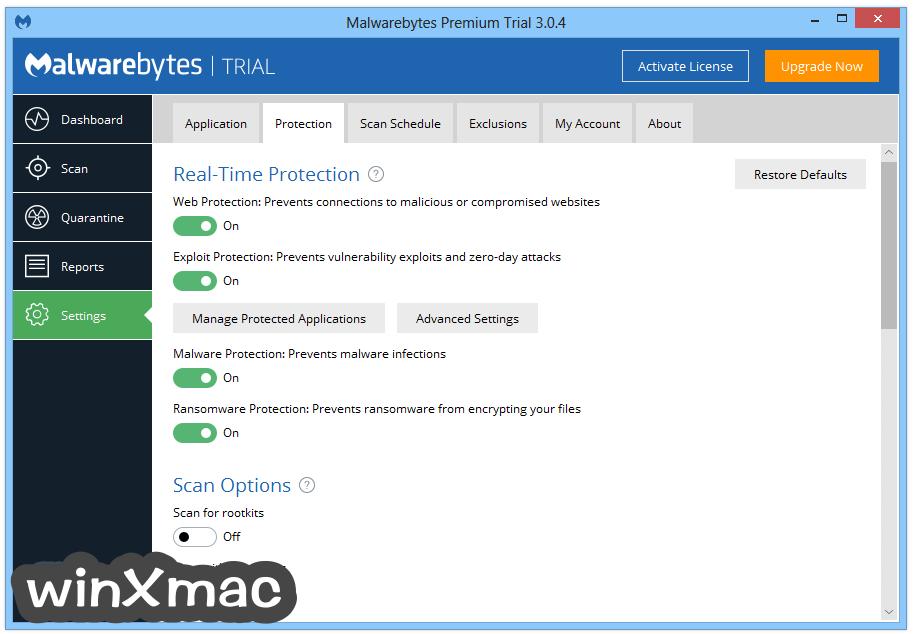 Malwarebytes Anti-Malware Screenshot 5