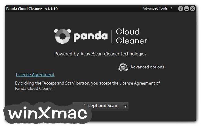 Panda Cloud Cleaner Screenshot 1