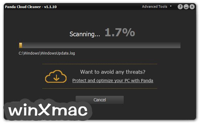 Panda Cloud Cleaner Screenshot 2