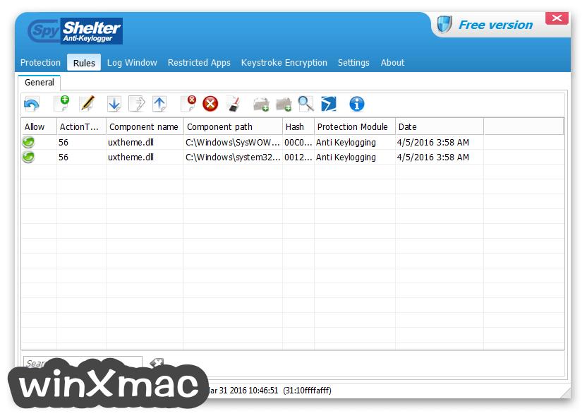 SpyShelter Anti-Keylogger Premium Screenshot 2