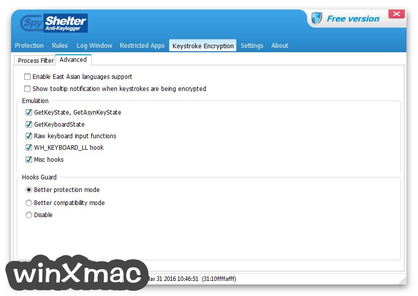 SpyShelter Anti-Keylogger Premium Screenshot 4