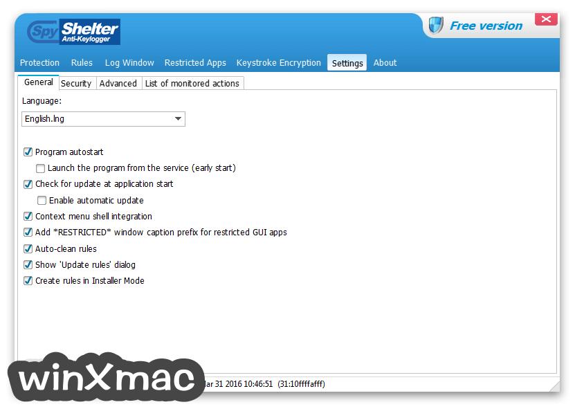 SpyShelter Anti-Keylogger Premium Screenshot 5