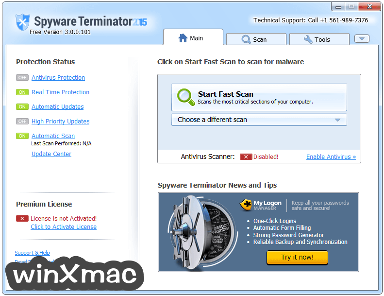 Spyware Terminator Screenshot 1