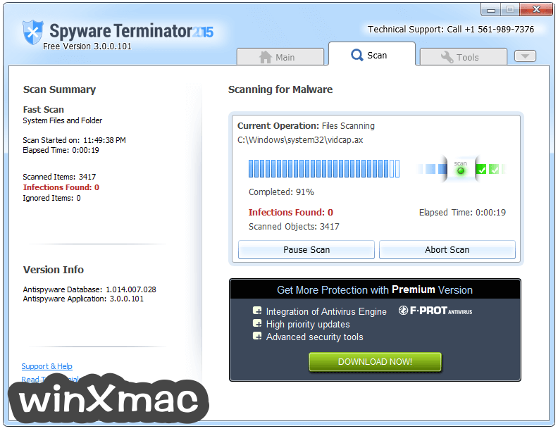 Spyware Terminator Screenshot 2