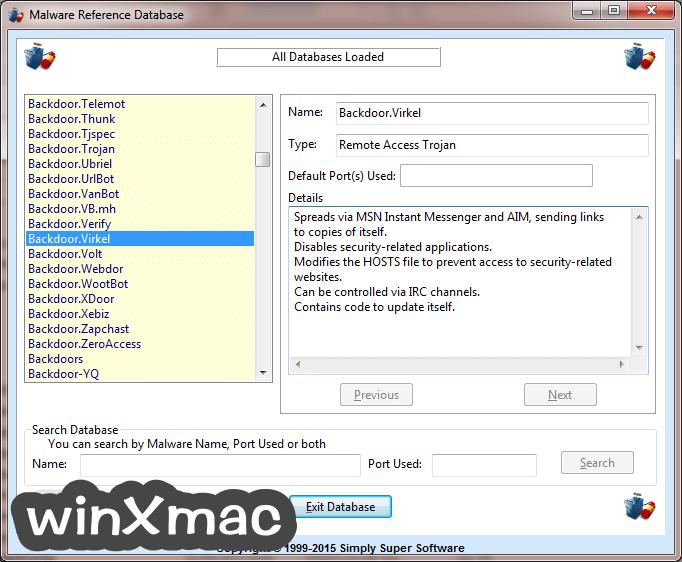 Trojan Remover Screenshot 2