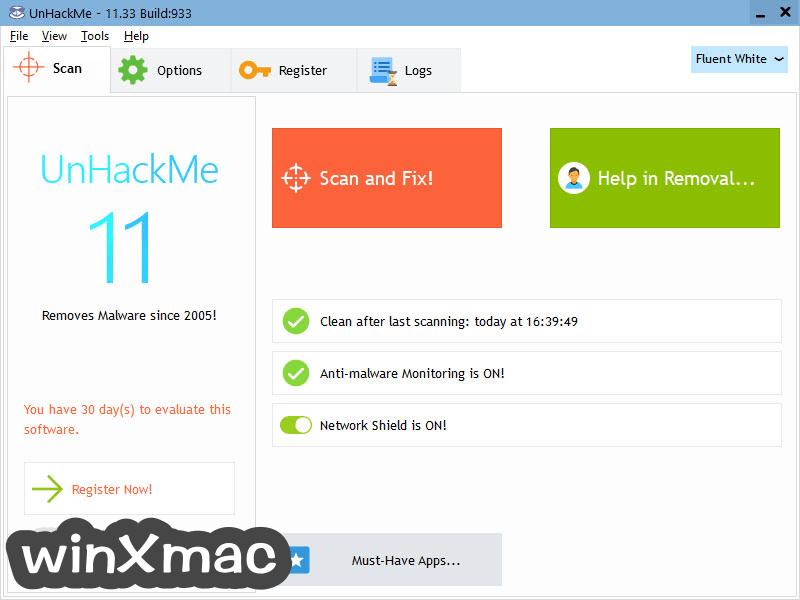 UnHackMe Screenshot 2