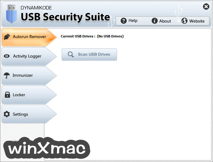 USB Security Suite Screenshot 1