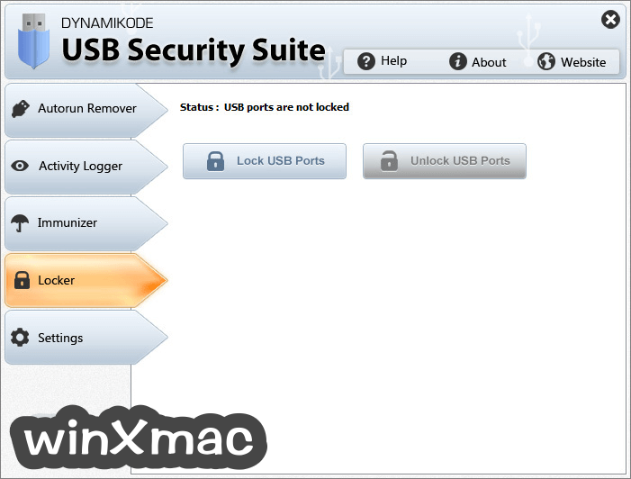 USB Security Suite Screenshot 4