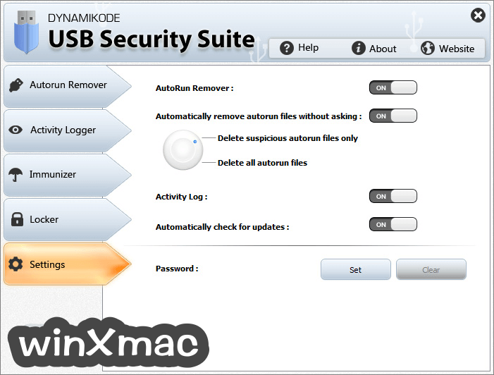 USB Security Suite Screenshot 5