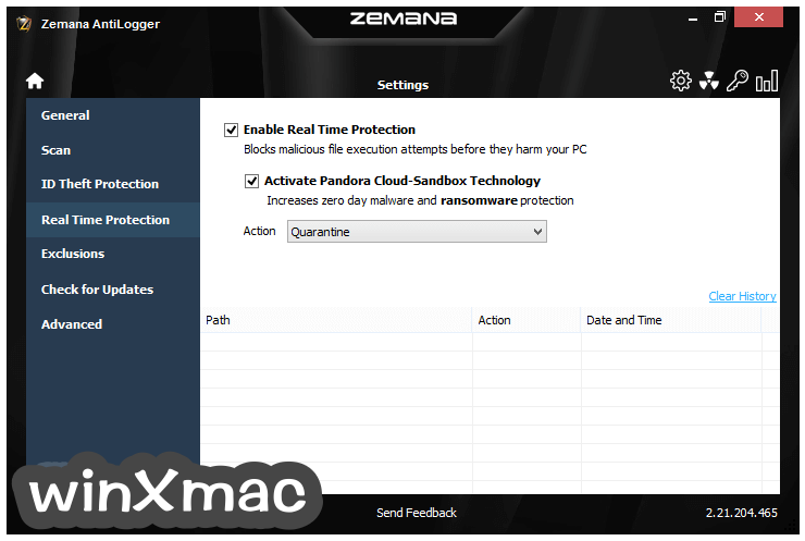 Zemana AntiLogger Screenshot 5