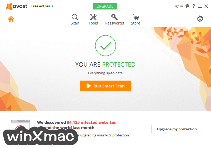 Avast Free Antivirus Screenshot 1