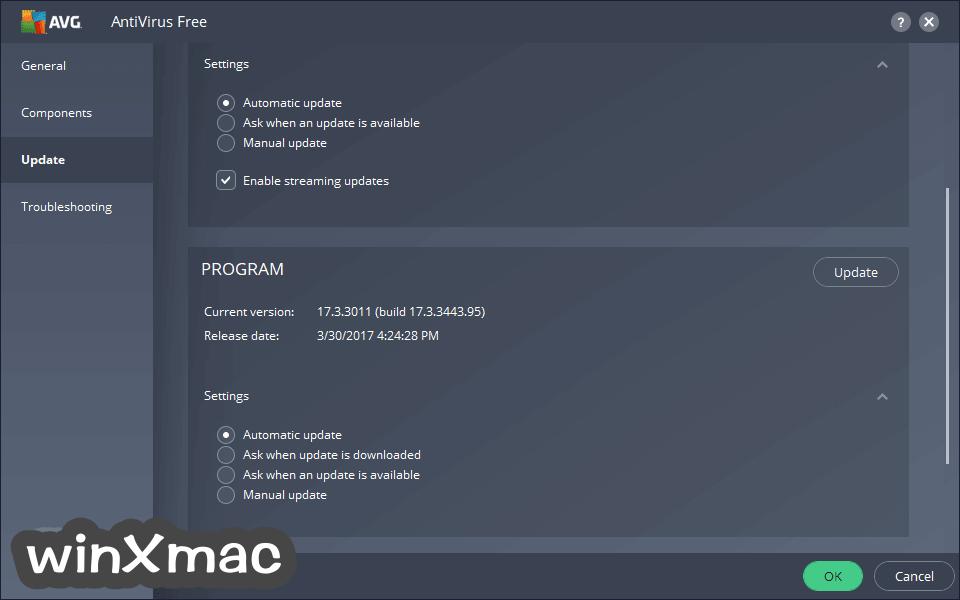 AVG Virus Definitions Screenshot 1