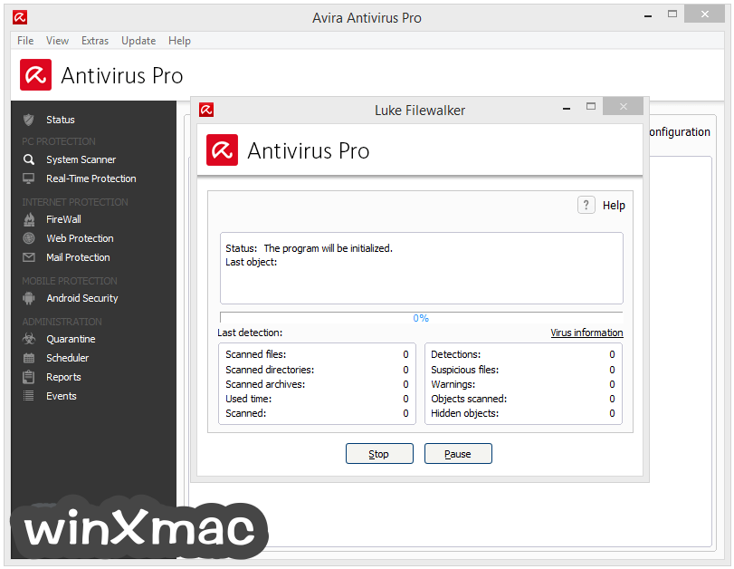 Avira Antivirus Pro Screenshot 2