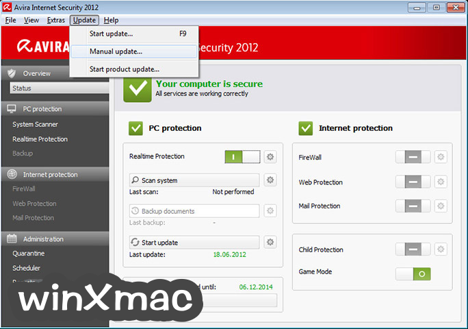 Avira Virus Definitions Screenshot 3