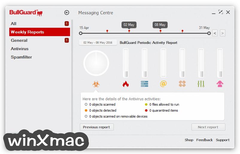 BullGuard Antivirus Screenshot 2