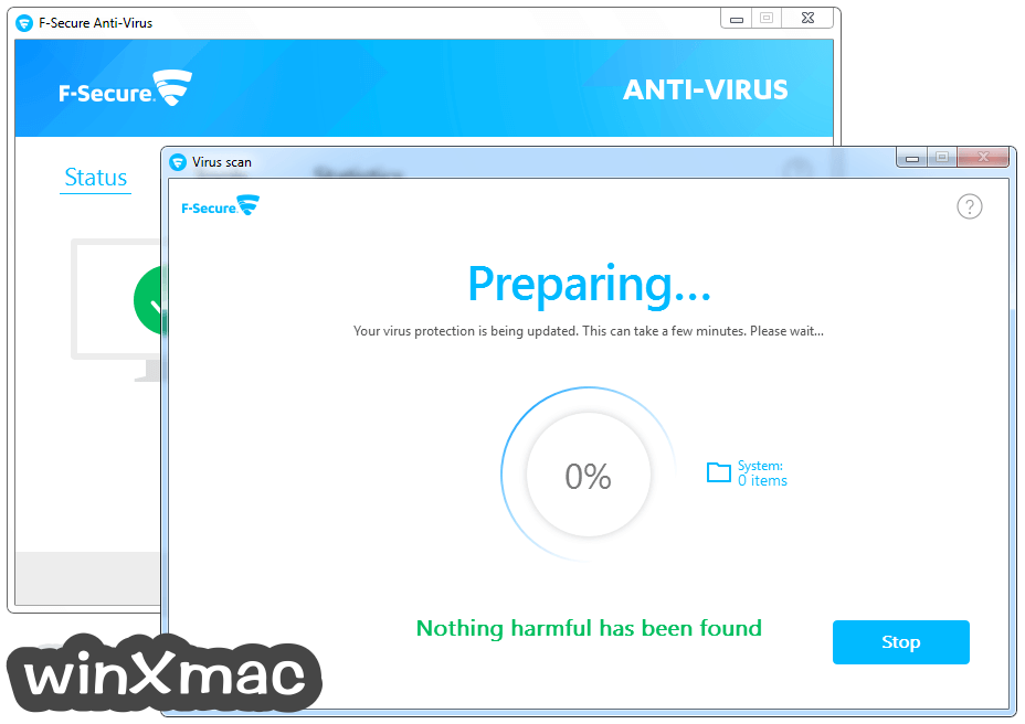 F-Secure Antivirus Screenshot 3