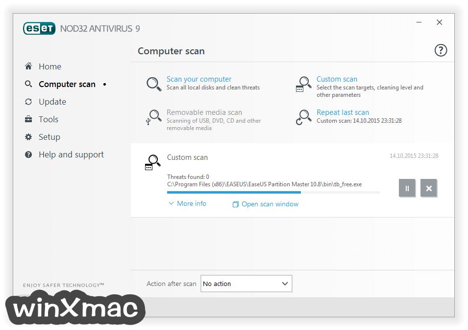ESET NOD32 Antivirus (64-bit) Screenshot 2